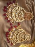 Handpicked Maroon Earrings Collection at Best Price